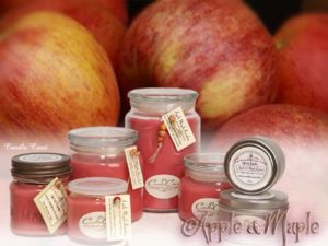 Apple Maple Bourbon Soy Candles