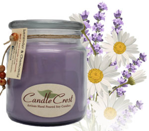 Lavender and Chamomile Candles