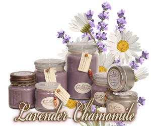 Lavender Chamomile Soy Candles
