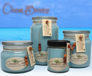 Ocean Breeze Soy Candles by Candle Crest