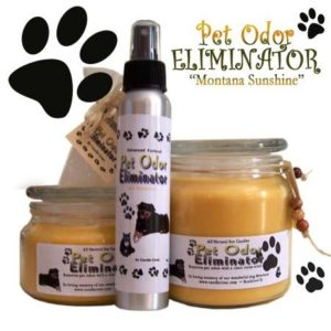 Pet Odor Eliminator Candles by Candle Crest Soy Candle
