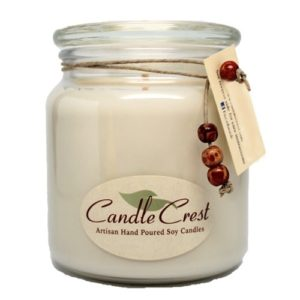 Candle Crest Unscented Candles