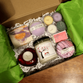 Join the Candle Box Subscription Club by Candle Crest Soy Candles