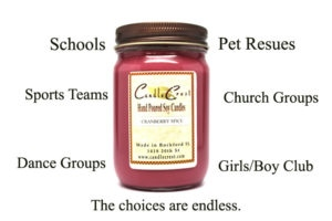 Candle Fundraisers for Your School or Organization with Candle Crest Soy Candles