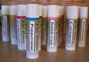 Natural Vegan Friendly Lip Balm. Several Fragrances to Choose From!