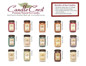 Candle Fundraisers - School Fundraiser - Group Fundraisers by Candle Crest Soy Candles
