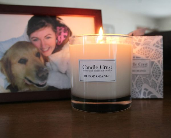 Luxury soy candles for your spa, boutique or home from Candle Crest Soy Candles inc