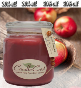 Candle Crest Soy Candles - Fragrance of the Month