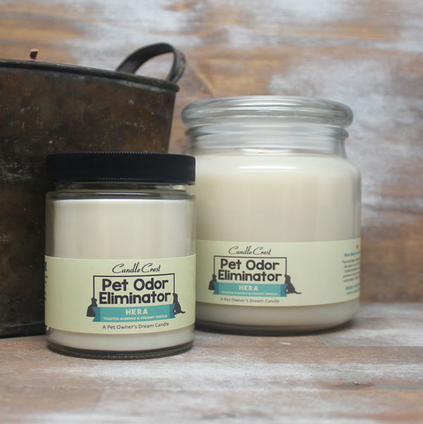 Removes Pet Odors - Candles by Candle Crest