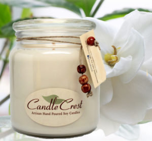 White Soy Candfles - Scented Candles by Candle Crest