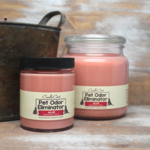 Removes Pet Odors! Odor Eliminator Candles by Candle Crest