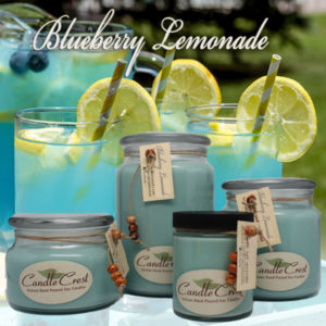 Blueberry Lemonade Soy Candles by Candle Crest Soy Candles Inc
