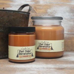 Pet Odor Eliminator Candles by Candle Crest Soy Candles