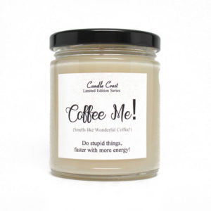 Scented Coffee Candles by Candle Crest