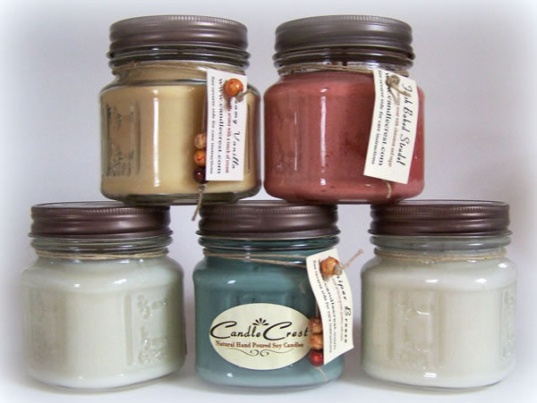 Country Candle Collection by Candle Crest Soy Candles