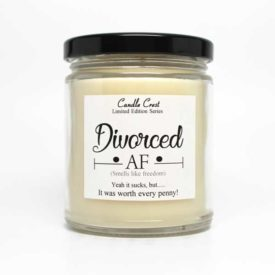 Divorced Soy Candles - By Candle Crest