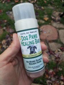 All Natural - Dog Paws Lotion Healing Bar