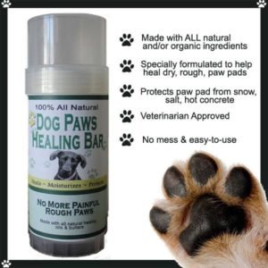 All Natural Dog Paws Lotion Healing Bar
