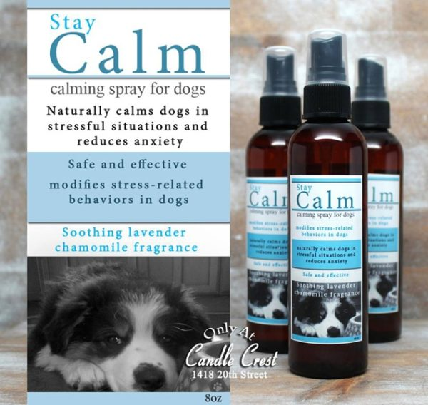 Calming Dog Spray - Helps with thunderstorms, fireworks and more.