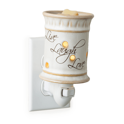 Live Laugh Love Plug-in Tart Warmer - Wax Warmers from Candle Crest