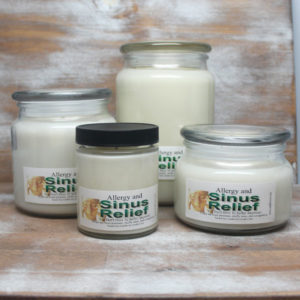 Breath Easy with our Sinus and Allergy Relief Soy Candles by Candle Crest