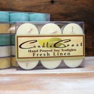 Soy tealights in a variety of fragrances by Candle Crest
