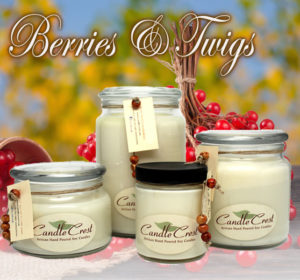 Berries & Twigs - Earthy Soy Candles by Candle Crest Soy Candles Inc