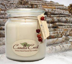 Birchwood Scented Candles by Candle Crest Soy Candles inc