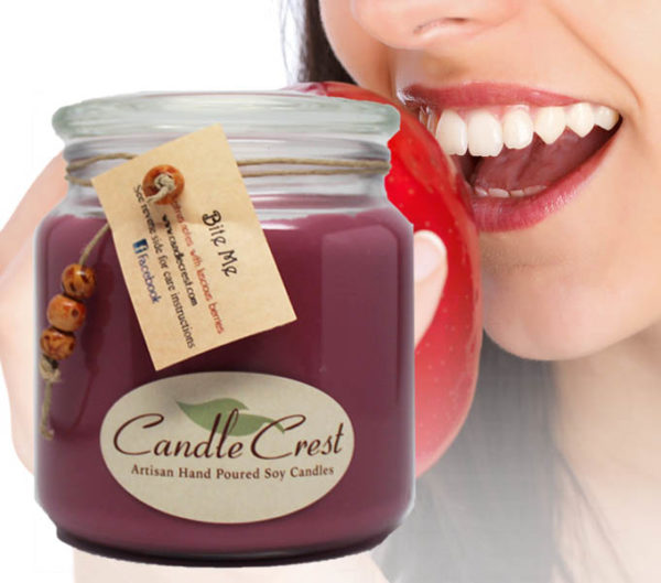 Bite Me Candles by Candle Crest
