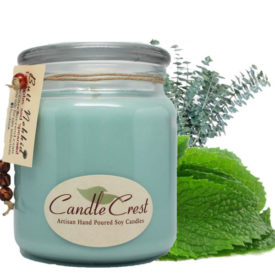 Butt Nekkid Candles - Eucalyptus & Spearmint Candles by Candle Crest