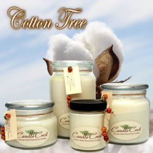 Cotton Tree Scented Soy Candles by Candle Crest Soy Candles Inc