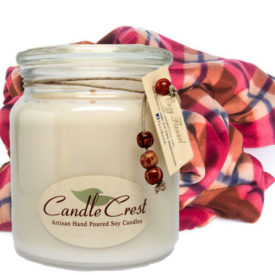 Flannel Scented Soy Candles by Candle Crest Soy Candles Inc