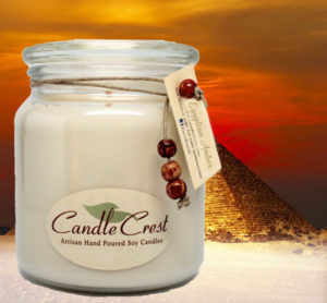 Egyptian Amber Candles by Candle Crest Soy Candles Inc