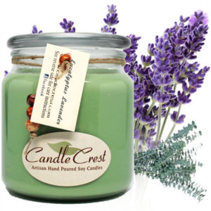 Eucalyptus Lavender Soy Candles by Candle Crset