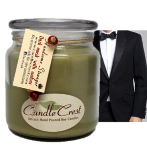 Handsome Stranger Soy Candles - Popular Candles by Candle Crest Soy Candles Inc