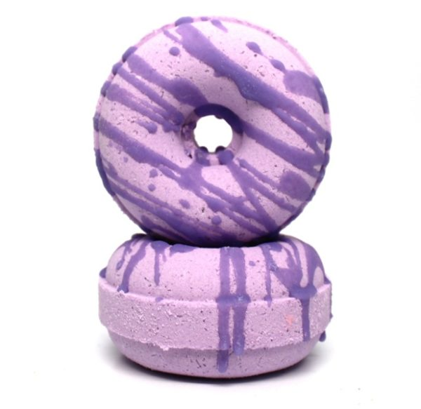 Lavender Martini Scented Donut Bath Bombs