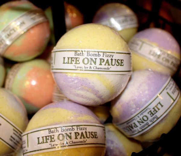 Life on Pause Bath Bomb by Judakins Bath and Body