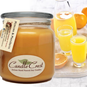 Mimosa Scented Soy Candle by Candle Crest Soy Candles Inc