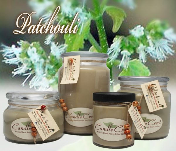 Patchouli Scented Candles by Candle Crest Soy Candles Inc