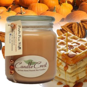 Pumpkin Pecan Waffle Scented Candles by Candle Crest Soy Candles