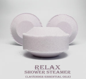 Relaxing Lavender Shower Steamer - Vegan Friendly Bath Products