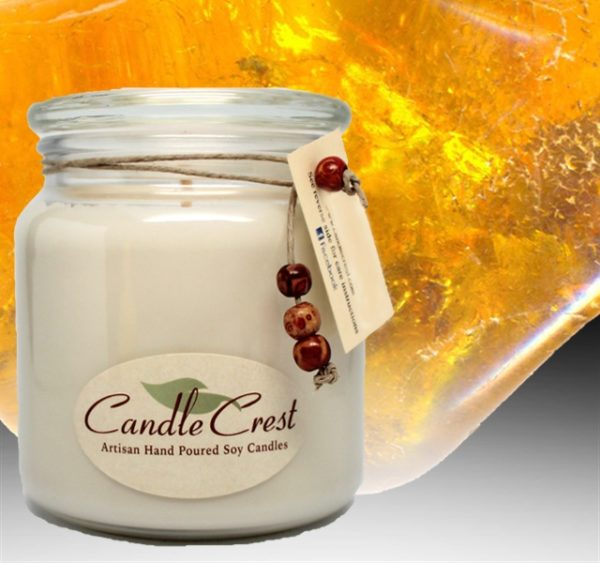 Serendipity - Amber Noir Soy Candles by Candle Crest Soy Candles Inc