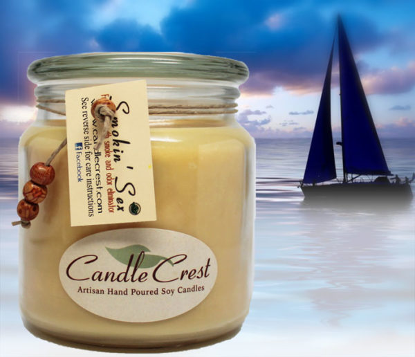 Smokin Sex - Scented Soy Candles by Candle Crest Soy Candles inc
