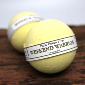 Weekend Warrior - Lemongrass Bath Bomb by Judakins Bath & Body