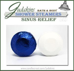 Sinus & Allergy Relief Shower Steamers by Judakins Bath & Body