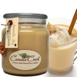 Amaretto Nog Scented Candles by Candle Crest