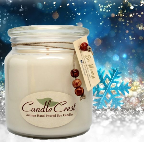 Be Merry Scented Soy Candles by Candle Crest