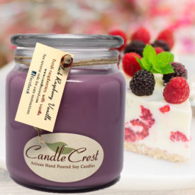 Black Raspberry Vanilla Scented Candles by Candle Crest