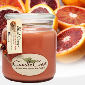 Blood Orange Scented Soy Candles by Candle Crest