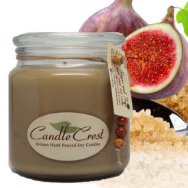 Brown Sugar & Fig Scented Candles by Candle Crest Soy Candles Inc
